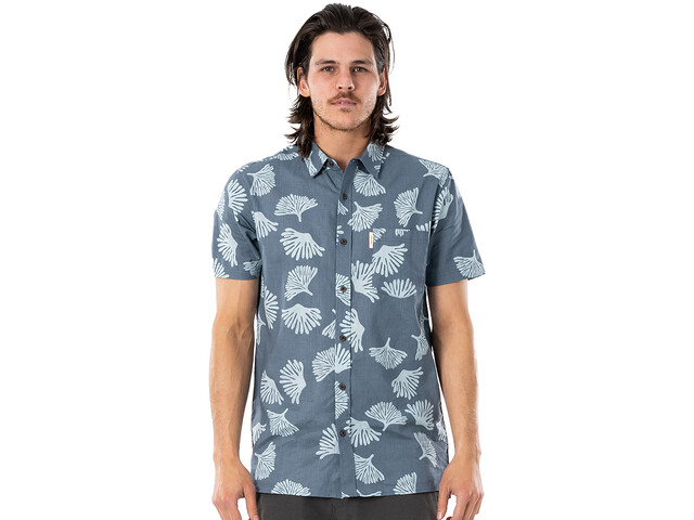 Rip Curl SWC Short Sleeve Shirt Men, washed navy